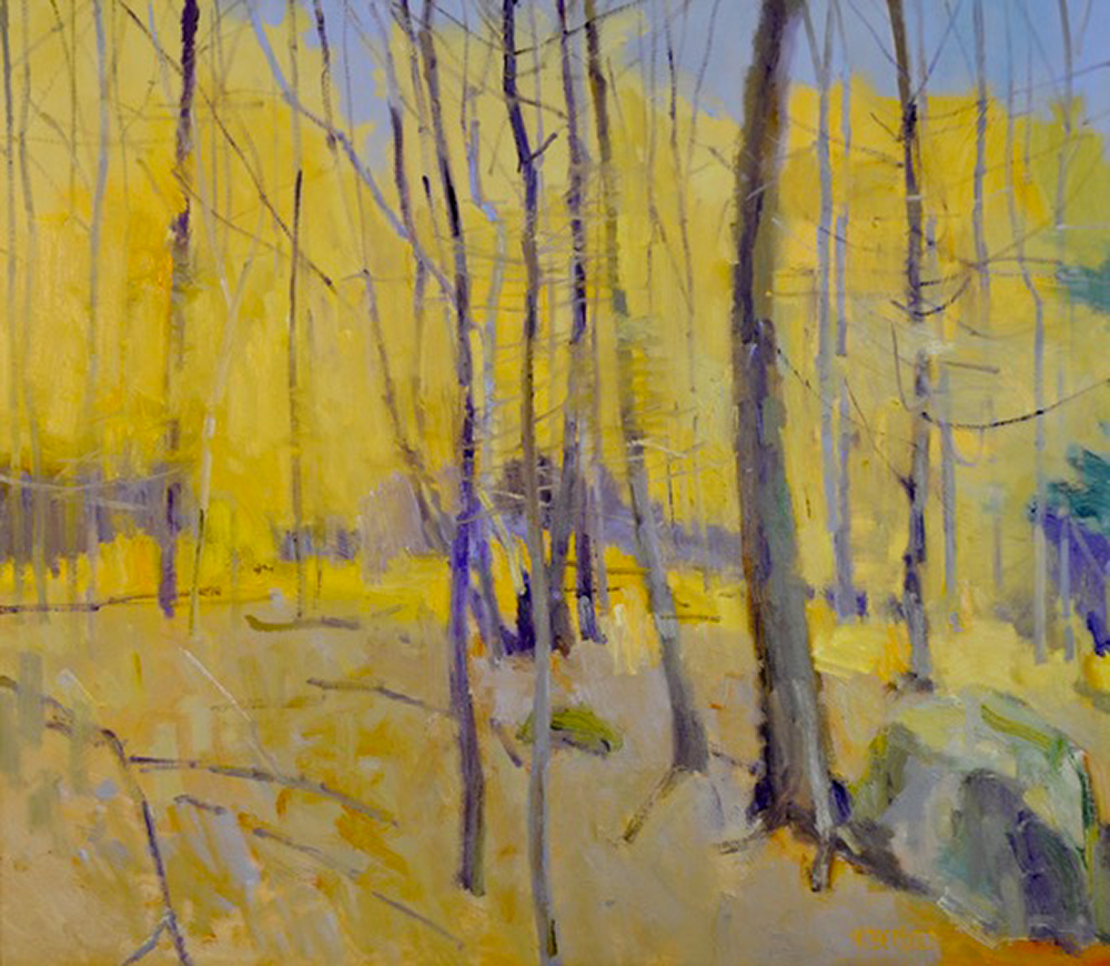 Tight Group of Trees 40″ X 46″